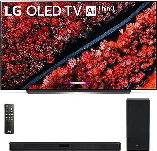 """OLED65C9PUA 65"""" C9 4K HDR Smart OLED TV w/AI ThinQ (2019 Model) w/ 420W 3.1-Channel Soundbar System DTS Virtual X - (SL6Y)"""