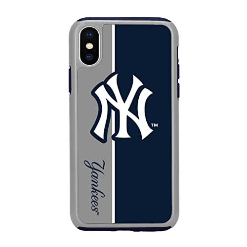Forever Collectibles MLB Licensed Dual Hybrid Case for Samsung Galaxy S6 New York Yankees