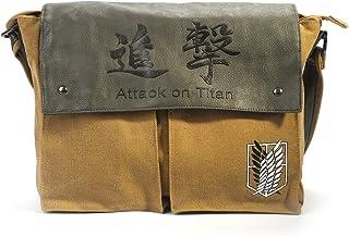 CoolChange Bolso de paño marrón de la legión de reconocimiento de la Serie Ataque a los Titanes