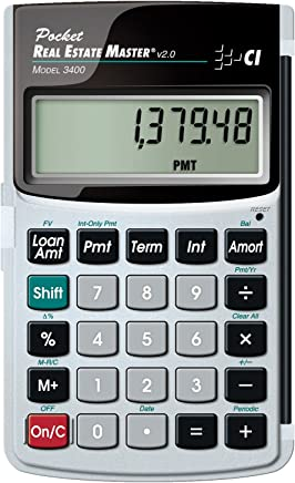 Calculated Industries 3400 Pocket Real Estate Master Financial Calculator photo
