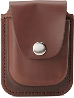 Charles-Hubert, Paris 3572-5 Brown Leather 56mm Pocket Watch Holder