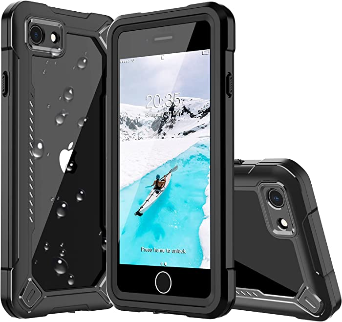 ANTSHARE Waterproof iPhone SE 2020 Case,iPhone 7 Case,iPhone 8 Case,Special Designed Full Body with Screen Protector Heavy Duty Shockproof IP68 Waterproof Case for iPhone 7/8/SE2 (4.7 inch)