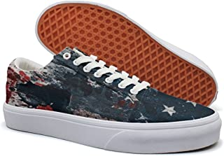 KKLDFD American Flag All National Flags Of The Nations With Names Canvas Low-top New Shoes OfMen Fashion White