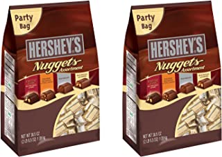 Hershey's Nuggets Chocolates Assortment, 38.5 oz (38.5 Ounce (2 Pack))