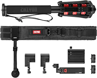 Zhiyun Crane 3 LAB Creator Accessories Kit with Servo Zoom/Focus Controller(Max),Servo Zoom/Focus Controller(Lite),Quick Setup Kit,Camera Belt,1.2m Monopod,Smart Phone Holder,Quick Release Base Plate