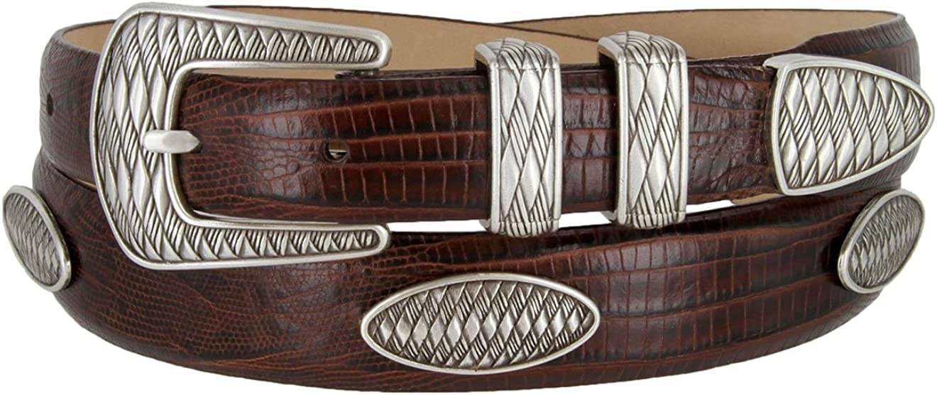 AZTEC Concho Genuine Italian New products world's highest quality popular Calfskin Leather Gol Award Designer Dress