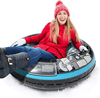 Jasonwell Snow Tube Inflatable Snow Sled Toboggan Snow Toys for Kids and Adults Heavy..