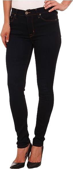 Hudson - Barbara High Rise Skinny Jeans in Delilah