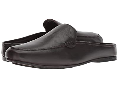 CARLOS by Carlos Santana Planeo Slide (Dark Chocolate Calfskin Leather) Men