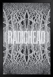 Pyramid America Radiohead King of Limbs Music Black Wood Framed Poster 14x20