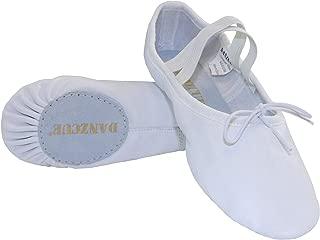 Best leather split sole ballet shoes Reviews