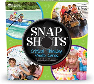 Learning Resources Snapshots Critical Thinking Photo Cards: Grades PreK-K