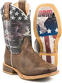 Tin Haul Footwear Boys Tin Haul Kids Cactilicious Raised to be Sharp 7in Boot 1 Brown