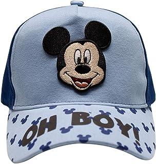 Disney Boys Mickey Mouse Baseball Hat Mickey Mouse Logo Curved Brim, Adjustable Cap