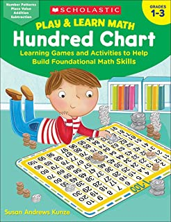 Play & Learn Math: Hundred Chart: Learning Games and Activities to Help Build Foundational Math Skills