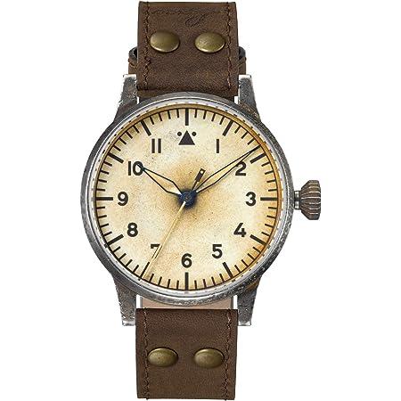 Amazon.com: Laco Pilot Watch Original Venedig Erbstuck 861943 Antique Look  Artifically Aged Automatic Watch: Watches