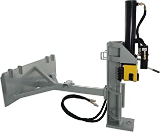 bobcat skid steer log splitter attachment