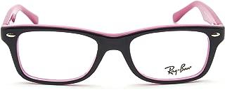 Ray-Ban RY1531 JUNIOR Square Prescription Eyeglasses RX - able 3702, 46mm