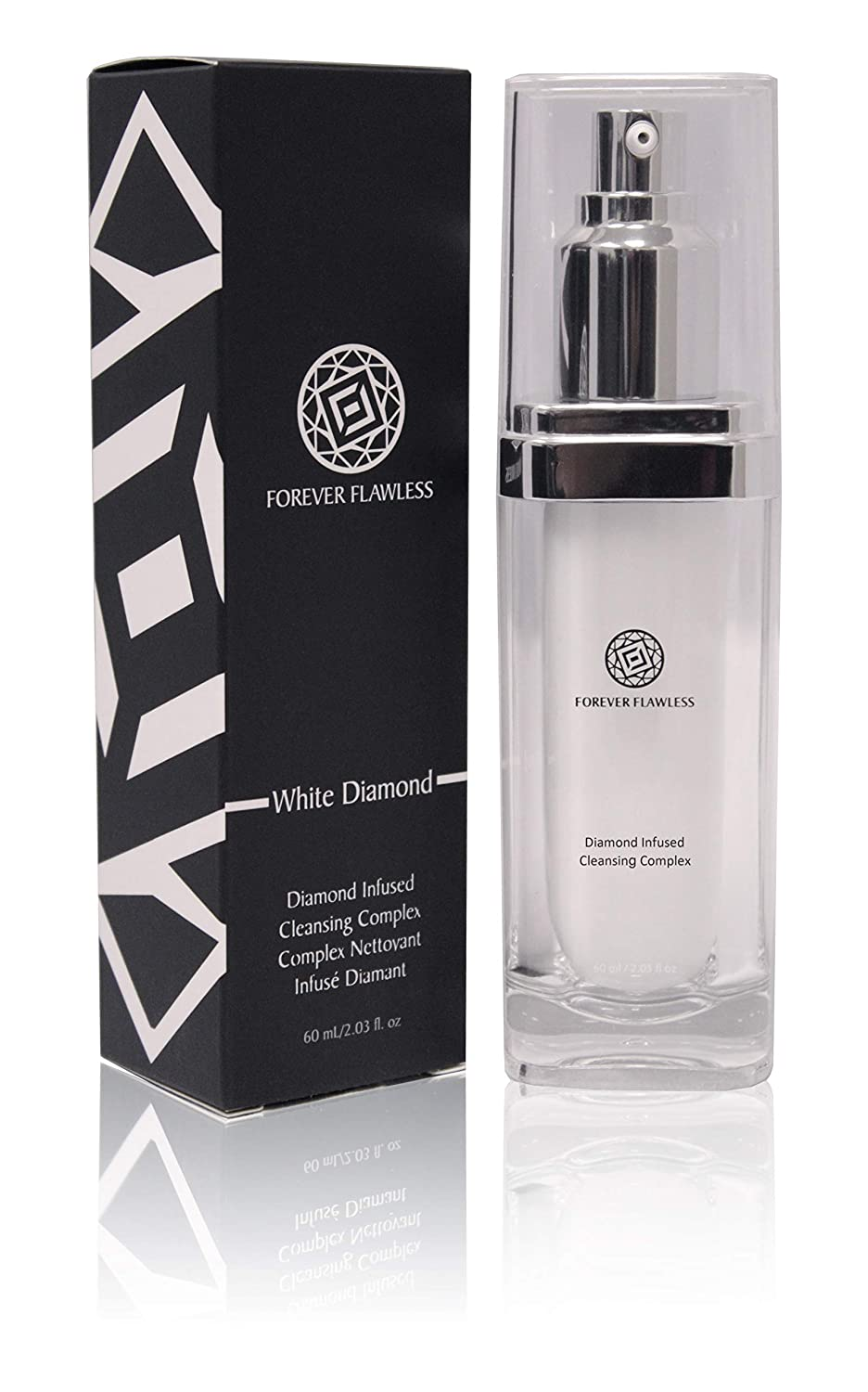 Lowest price Max 65% OFF challenge Forever Flawless Best Facial Cleanser 100% with In Diamond White