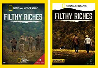 National Geographic Filthy Riches: Complete TV Series Seasons 1-2 DVD Collection
