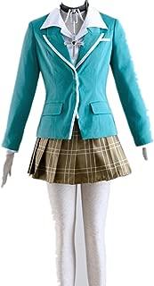 Love Anime Cosplay Costume Uniform Clothes-Moka Akashiya 5Pcs Set