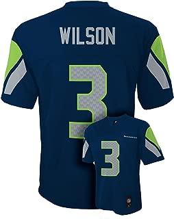 Outerstuff Russell Wilson Seattle Seahawks Youth Navy Jersey