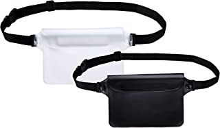 Waterproof Pouch with Waist Strap| Best Way to Keep Your Phone and Valuables Safe and Dry | Perfect for Boating Swimming Snorkeling Kayaking Beach Pool Water Parks