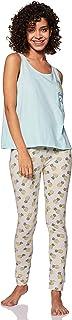 Amazon Brand - Eden & Ivy Women's Loose Fit T-Shirt & Pyjama Set