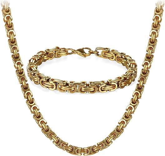 Armband kette herren gold
