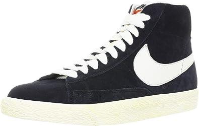 Nike Blazer high vintage 375722001, Baskets Mode Homme, NOIR/BLANC ...