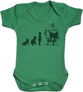 Baby Evolution to A Hulk Baby Gift, Baby Boy Gift, Baby Girl Gift, Baby Boy Bodysuit, Baby Girl Bodysuit