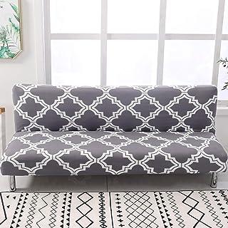 c9399d60085 Fundas de Sofá Sin Brazos Plegable Fabric Poliéster Spandex Protector de  Muebles Cubre Sofa Cubierta para