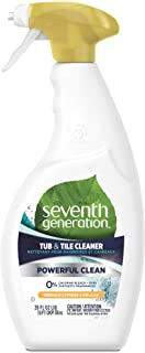 Seventh Generation Tub and Tile Cleaner, Emerald Cypress and Fir, 768ml