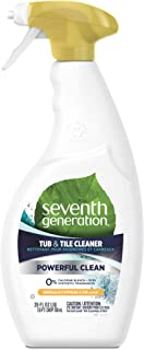 Seventh Generation Tub and Tile Cleaner, Emerald Cypress and Fir, 768 ml