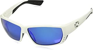 d9762c158ef Costa del Mar Unisex-Adult Tuna Alley TA 25 OBMGLP Polarized Iridium Wrap  Sunglasses