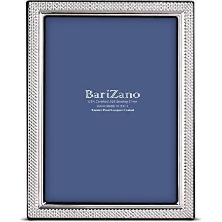 Handmade 925 Sterling Silver Photo Picture Frame 7300 13x18 GB new 5,1\u201d x  7,1\u201d inches for Wedding gift Birthday gift and Anniversary gift