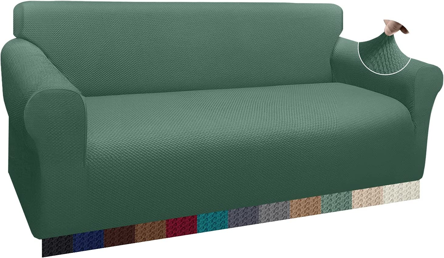 Luxurlife Thick Sale SALE% OFF Sofa Covers New mail order 1-PieceStretch 3 Couch for Cover Cu