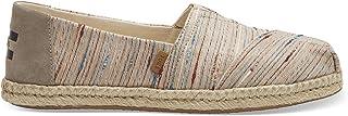 TOMS Slub Stripes, Women's Shoes, Multicolour (Natural), 3.5 UK (36 EU)