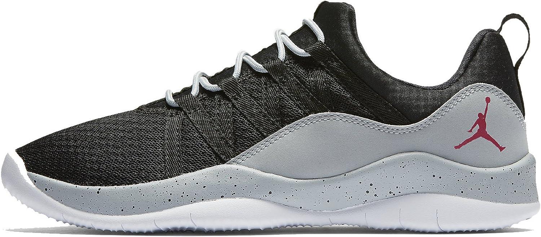 Jordan DECA Fly GG girls fashion-sneakers 844371-001_6.5Y - Black Wolf Grey White