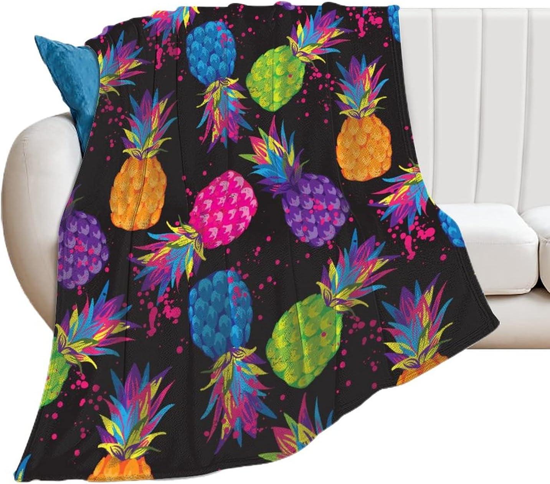 Kenaat Colorful Pineapple Fruit Very popular! Throw Bla Blanket ...