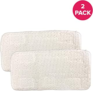 Think Crucial Replacement Mop Pads for Sienna Luna Floor Steamer Head Mops, Fit SSM-3006-CP – Fits Model SSM-3016 Washable & Reusable – Bulk (2 Pack)