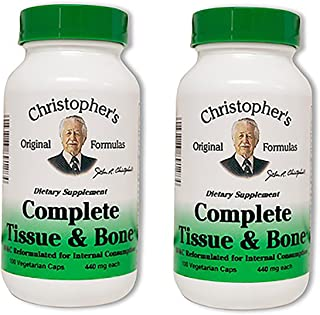 Dr. Christopher's Complete Tissue and Bone Formula 100 VegCap, Pack of 2
