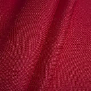 Erstklassiger Polyester Oxford 250D 1lfm - Wasserabweisend, Winddicht, Outdoor Stoff, Gartenmöbel Stoff Rot
