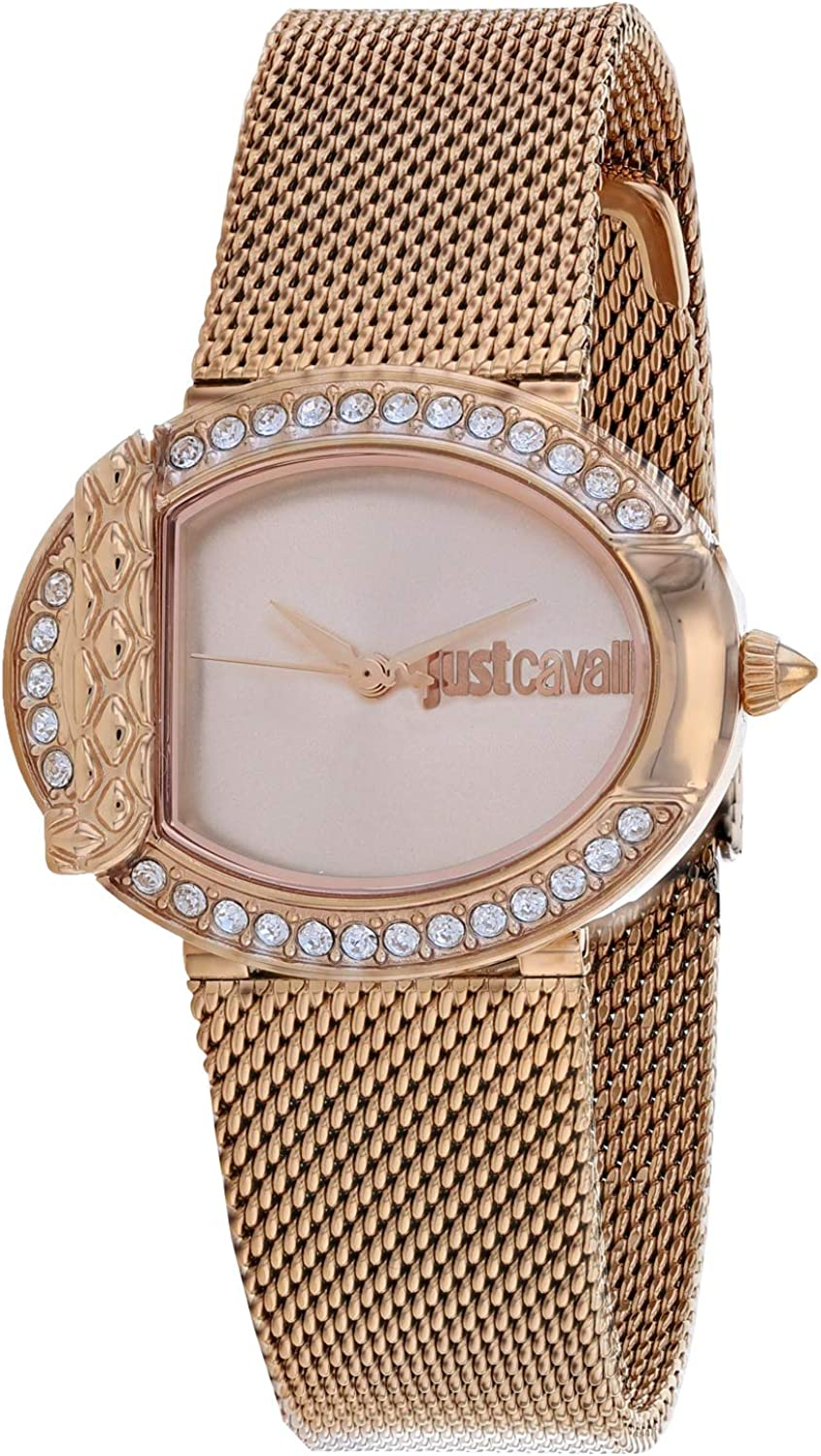 Just Cavalli Women's Quartz Watch Strap In stock Stainless Steel Ro Selling and selling with