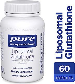 Pure Encapsulations - Liposomal Glutathione - Antioxidants, Liver Support and Detoxification* - 60 Softgel Capsules