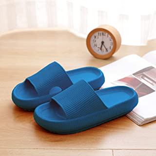 JNYY sohefia CloudFeet Ultra-Soft Slippers, Super Soft Home Slippers, Pillow Slides, Bathroom Non-Slip Thick Soled Shoes, ...