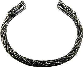 Asgard Small Viking Pagan Gothic Pewter Dragon Bracelet