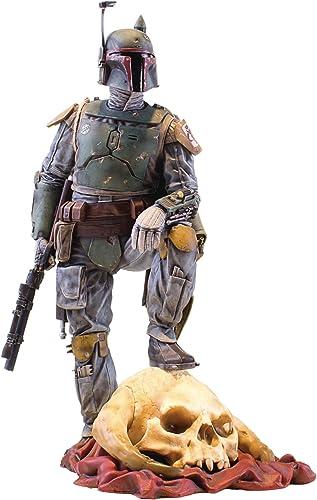 clásico atemporal Gentle Giant Star Wars Wars Wars The Empire Strikes Back Collectors Gallery Boba Fett 1 8 Scale Estatua  100% autentico