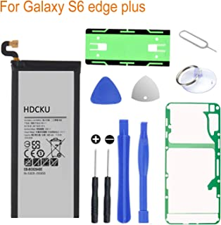 HDCKU Battery Replacement Kit for Samsung Galaxy S6 Edge Plus SM-G928 EB-BG928ABE G928A G928T G928P G928V with Full Replacement Tools and Instruction(365 Days Warranty)