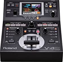 Roland V-4EX   Digital Video Mixing Device for Quality Video Performance and Web Streaming : 4-Channel
